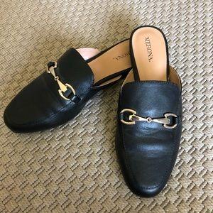 Merona Black slip-on Slides